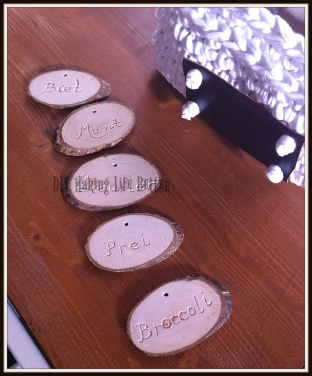 carved vegetable labels