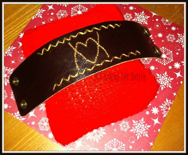 embroided leather cuff2