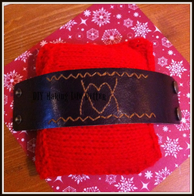 embroided leather cuff3