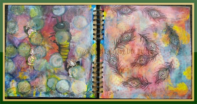 art journal pagina 7